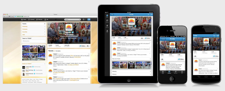 Mobile: Twitter si rinnova e cambia volto!