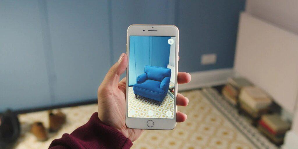 app in realtà aumentata per arredare casa